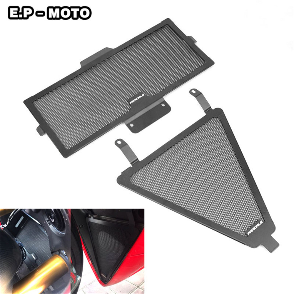 New Motorcycle Simple Engine Radiator Stainless Steel Grille Guard For