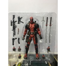 лучшая цена NECA Epic Marvel Deadpool Ultimate Collector's 1/10 Scale Action Figure PVC Collectible Model Toy figurine
