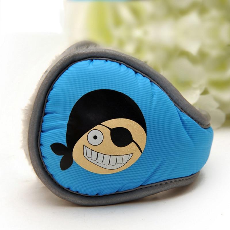Winter Children's Earmuffs Foldable Printing Cartoon Plush Winter Warm Earmuffs Children's Earmuffs