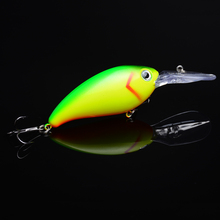 все цены на 1PC Crankbait fishing Wobblers 14g 10cm artificial Crank Bait Bass Fishing Lure pike trolling pesca carp Fishing Tackle онлайн