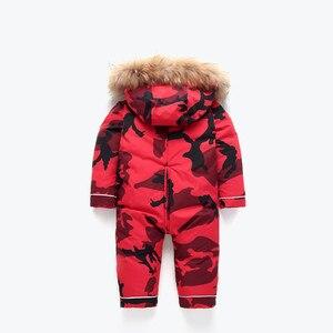 Image 2 - Orangemom çocuk kış giyim sıcak giyim ve mont ördek su geçirmez kar giyim giyim kış ceket için erkek çocuk mont