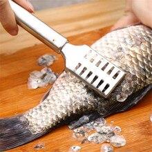 Нержавеющая сталь быстрая очистка рыбьей чешуи Овощечистка морепродукты крекеры выбирает рыбы скалер скребок для удаления рыбьей кожи инструменты для удаления