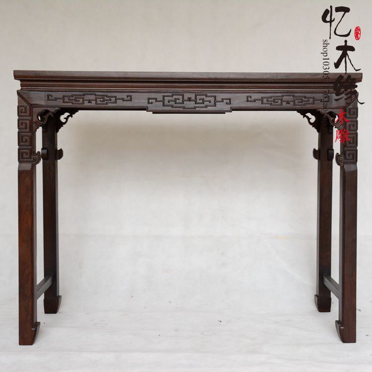 Mahogany furniture is wood carved mahogany case ebony wood case flat bar entrance altar altar a chinese style mahogany altar altar fokan african rosewood altar entrance hall table table