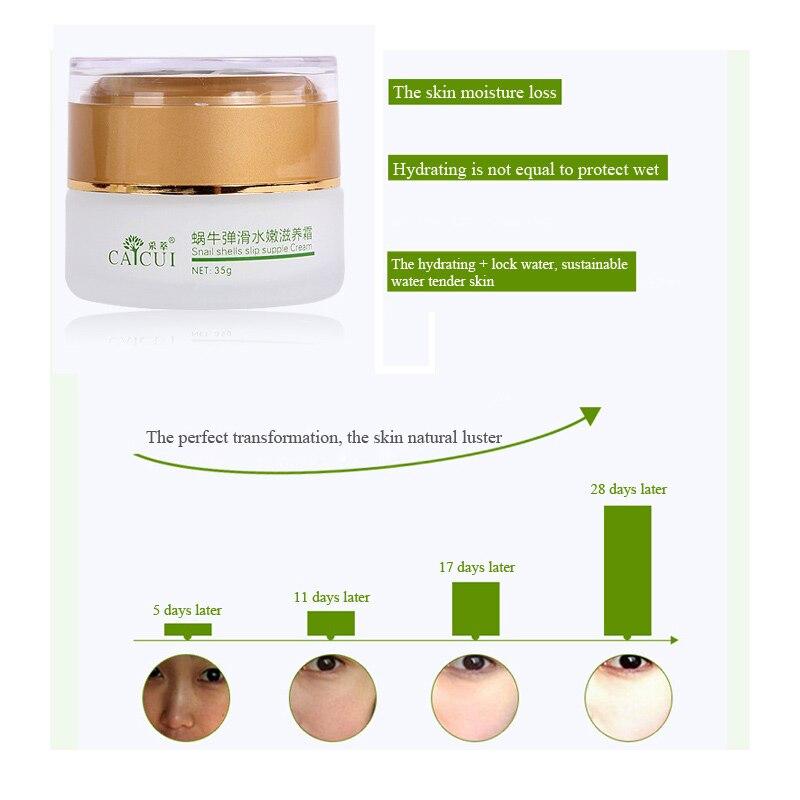 Caicui улитки крем лечение акне увлажняющий против старения морщин крем для отбеливания кожи крем для лица уход за кожей красоты улитка экстракт маска маски крем для лица корейская косметика гиалуроновая кислота