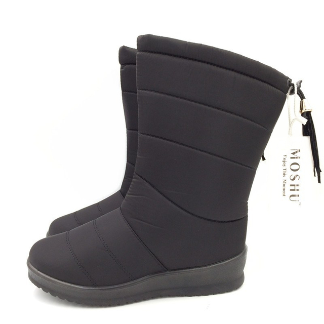 Mid-Calf Down Waterproof Winter Snow Women / Ladies / Girls Boots
