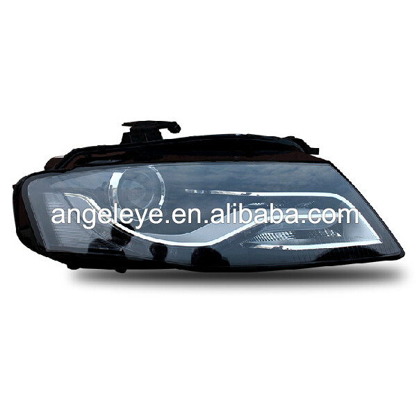 For <font><b>A4</b></font> <font><b>B8</b></font> <font><b>LED</b></font> Strip Head Lamp with Projector Lens 2009-2012 year