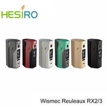 Original wismec reuleaux rx2/3 tc 150 w 200 w caja mod actualizables Firmware Reuleaux RX2-3 TC RX23 Temp Control Mod VS RX200S Mod