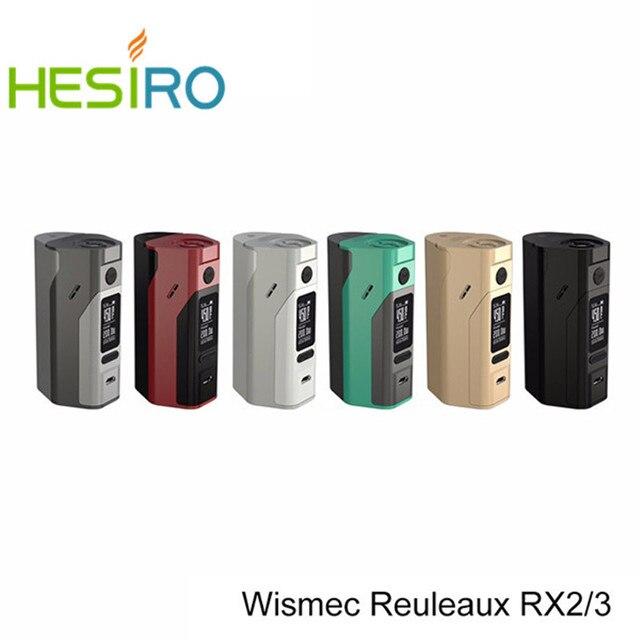 Оригинал Wismec Reuleaux RX2/3 TC 150 Вт 200 Вт Окно Мод С Возможностью Расширения прошивки Reuleaux RX2-3 TC RX23 Temp Управления Мод VS RX200S Mod