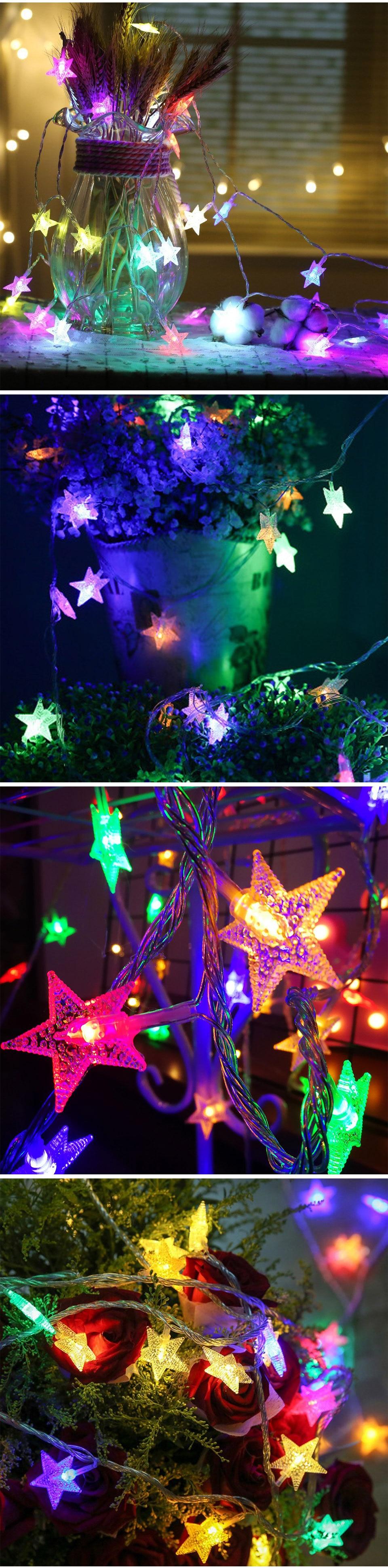 Lights Led Star String