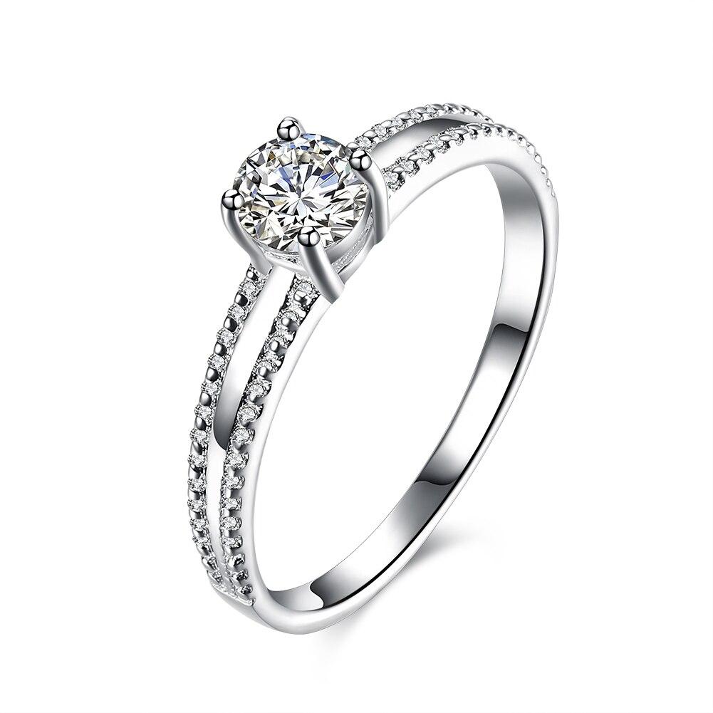 925 sterling silver wedding promise engagement ring carat. Black Bedroom Furniture Sets. Home Design Ideas