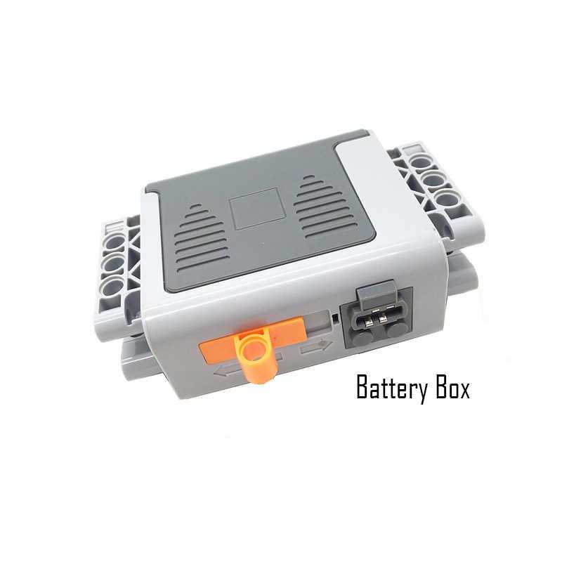 Technical Power Function Servo Motor Polarity Switch IR Remote Control Receiver Battery Box technic creator technician