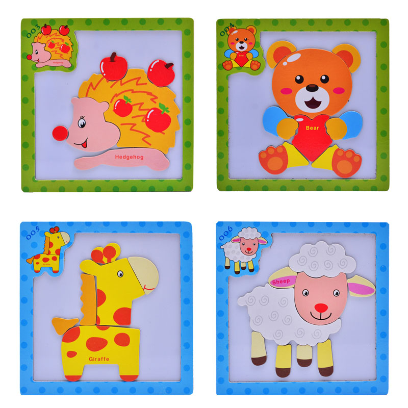 24 Styles Multifunctional Educational Wooden Magnetic