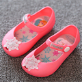 Mini SED shoes 2017 Summer New Cartoon Girls sandals Cute Girls shoes Kids Baby Sandals for girls PVC  jelly Shoes