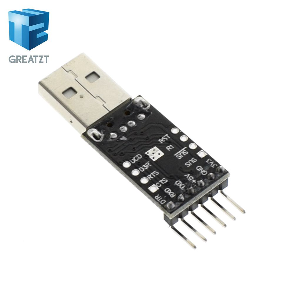 Greatzt 5pcs Black Cp2102 Usb 20 To Ttl Uart Module 6pin Serial Converter Circuit Stc Replace Ft232 In Integrated Circuits From Electronic Components