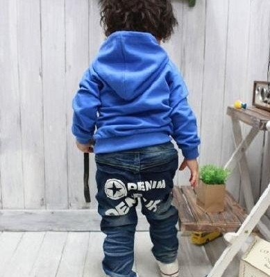 78c71c424 children design star jeans fashion boys blue jeans kids star pants kids  jeans Free shipping