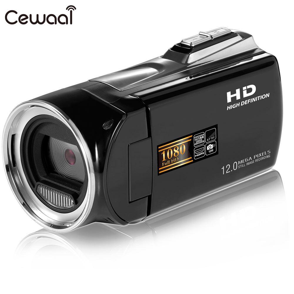 Cewaal Capacitif Écran tactile HD De Mariage Enregistrement Vidéo Caméra Tir DV Caméscope Petit Enregistreur Numérique Caméscope
