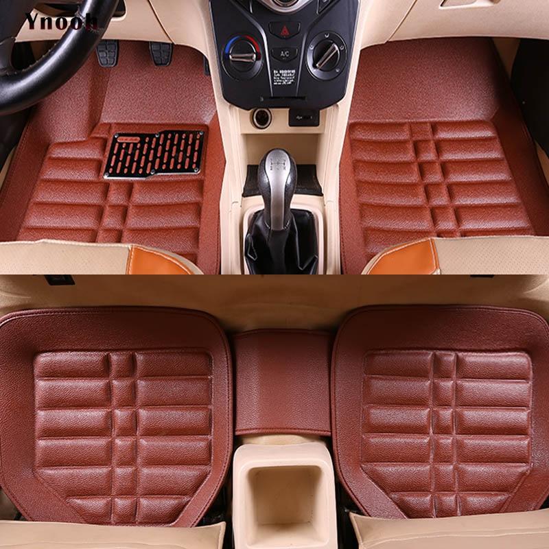 Auto car carpet foot floor mats For pajero 2 outlander xl 2017 2013 sport 4 grandis lancer car mats