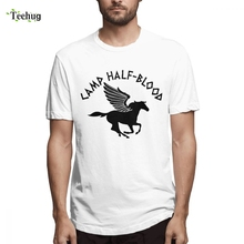 Percy Jackson T Shirt Camp Half Blood Tees Clothes Custom For Boy Geek Summer Graphic Homme Tee Man