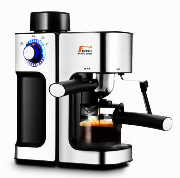MD-2006 Italian style Coffee machine Household Commercial Semi-automatic Steam type Playing milk foam Free shipping dhl fedex ems free shipping md 2006 italian style coffee machine household stainless steel steam type automatic coffee machine