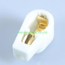 5pcs GOLD Vacuum Tube Caps/Grip cap/Plate cap for 6P13P 6Z18 1625 Ceramic Socket