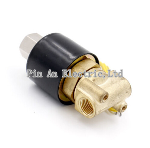 Water Air Gas Fuel Normal Open Solenoid Valve 1/8 BSPP 2w025-06K 3924450 2001es 12 fuel shutdown solenoid valve for cummins hitachi