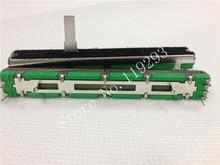 [BELLA]Original Behringer Soundcraft 7.5 cm double straight slide potentiometer A20KX2 15MMC A20K --10PCS/LOT