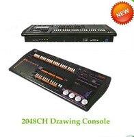 Высокое качество 2048 рука рисунок dmx ligthing контроллер не нужно библиотека 2048ch рисунок dj свет консоли с рабочей лампы