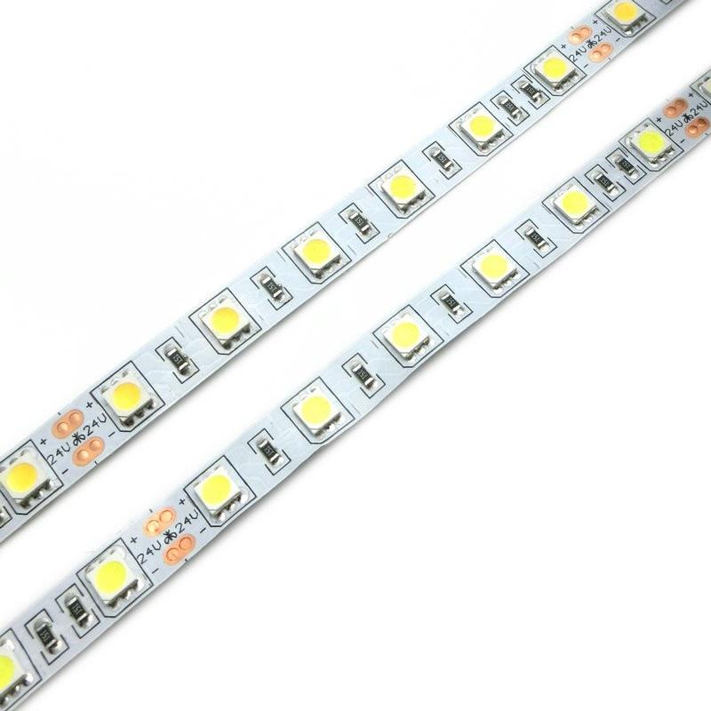 Tiras de Led de tira flexível 5050 led Consumo de Energia (w/m) : 11.52w/m