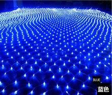 220V Multicolour 200LEDS 2m*3m LED Net String Xmas Cristmas Decoration Lights Free Shipping