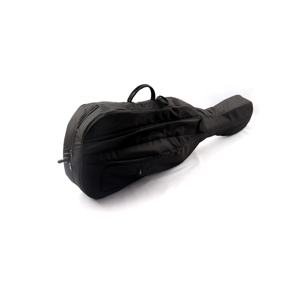 Professional Cello Bag Portable Thicken Waterproof Durable Cello Soft Cover Case Full Size 1/8 1/4 2/4 3/4 4/4 Black Color wholesale luxury professional protable trumpet bag 600d soft pocket case durable cover good quality backpack shoulder withstrap