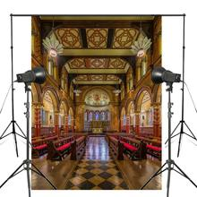 150x210cm Gorgeous London Chapel Photo Background British Architecture Backdrop Photography Studio Props Wall