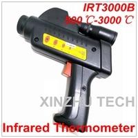Цифровой IRT3000B инфракрасный термометр профессиональный Температура тестер ИК Температура лазерный пистолет Диапазон 500 ~ 3000 градусов Цельс