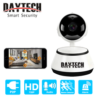 DAYTECH Wireless IP Camera WiFi Security Camera HD Video Baby Monitor Two Way Audio Recording IR