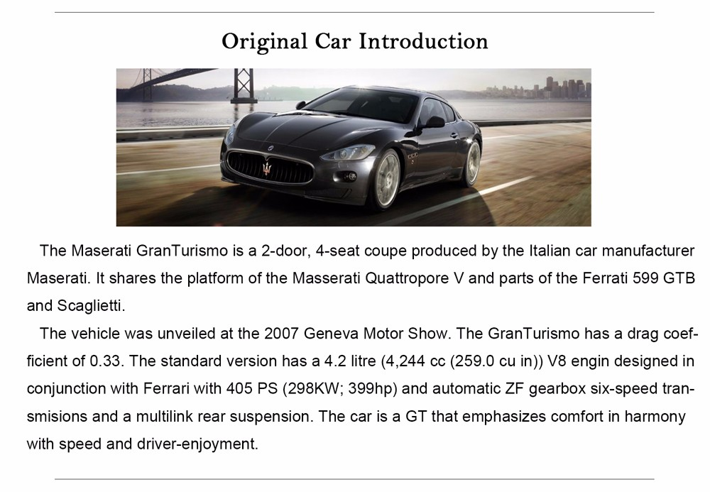 Maserati-Gran-Turism-Diecasts-Model-6