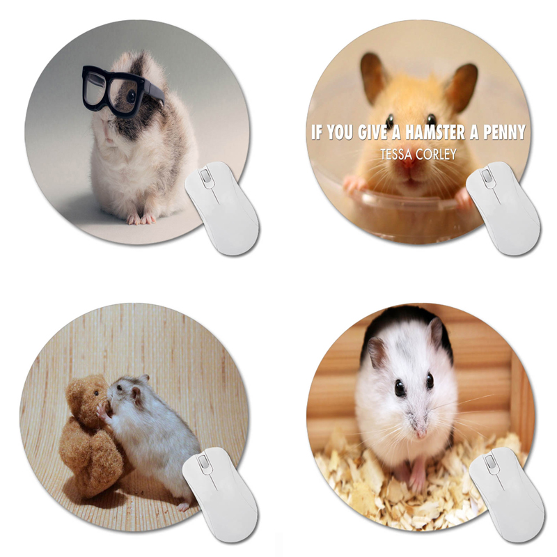 MaiYaCa Guinea Pig Round 200*200*2mm Mouse Pad Mousepad Computer PC Laptop Comfort Gaming Mouse Pad