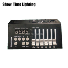 купить professional mini dmx 54 controller with battery easy carry powerful dmx 512 console good use for DJ disco party led par онлайн