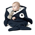 Shark Baby Sleeping Bags Cartoon Newborn Winter Sleeping Bag Swaddle Blanket Wrap Thick Warm Cute Baby Sleeping  -- MKE020 PT49