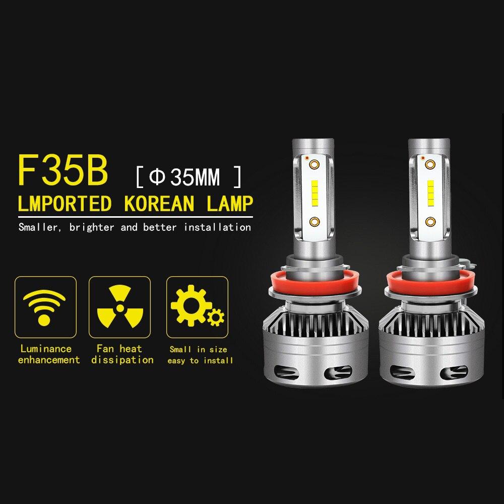 Ampoule led H4 led H7 H11 Ampoules De Voiture led Phares lampe 30 W 3200LM 9005 9006 phare de conduite Ampoules led 12 V /24 V 6000 K Universel