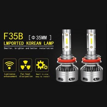 LED لمبات H4 LED H7 H11 لمبات سيارة أدى المصابيح الأمامية مصباح 30 W 3200LM 9005 9006 مصباح أمامي للقيادة لمبات Led 12 v/24 V 6000 K العالمي