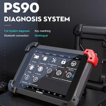 Original XTOOL PS90 Automotive OBD2 Car Diagnosis Tool Lifetime Online Update Code Reader Key Programmer Odometer EZ500 EZ400 - DISCOUNT ITEM  30% OFF All Category