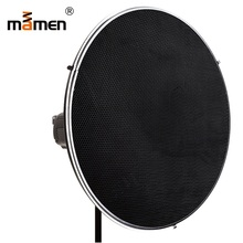 цена на Mamen Soft Box 42cm White Radome Cellular Network Aluminum Alloy Camera Light Photography Lighting With Raster Umbrella Softbox