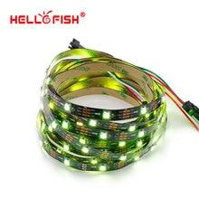 HELLO FISH,1M Built-in WS2812 LED strip 30 LED 30 pixels  Pixel matrix Arduino Display DIY led strip