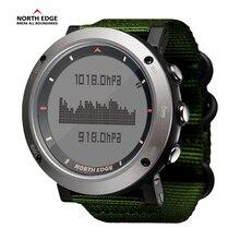 цена NORTH EDGE Men Sport Watch Altimeter Barometer Compass Thermometer Pedometer Calorie Hand Clock Digital Watches Running Climbing онлайн в 2017 году