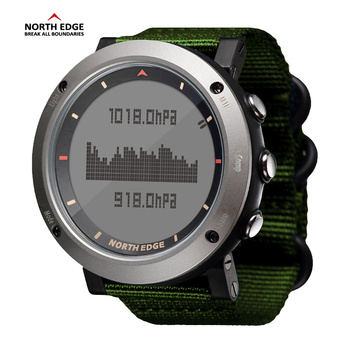 NORTH EDGE Men Sport Watch Altimeter Barometer Compass Thermometer Pedometer Calorie Hand Clock Digital Watches