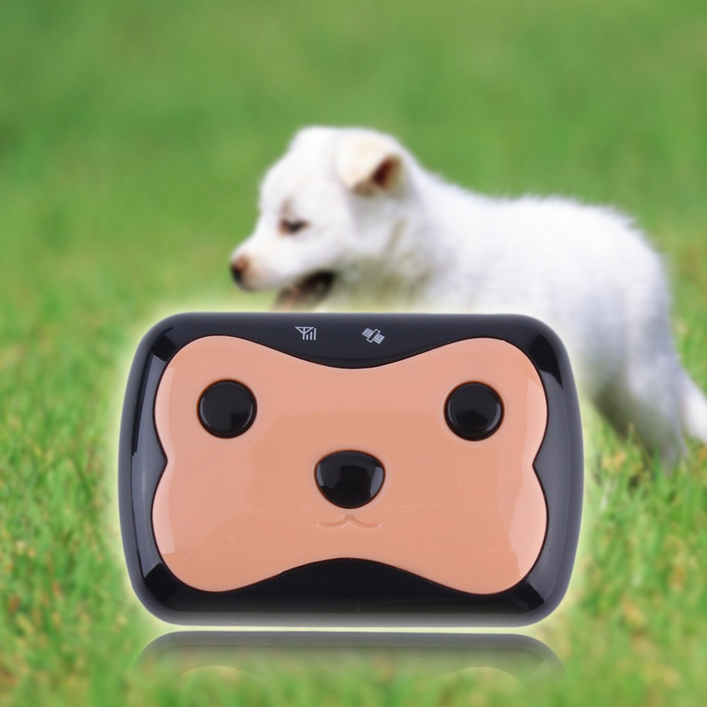 1Pc Cute Mini Realtime GPS Dog Cat Pet Tracker Tracking System