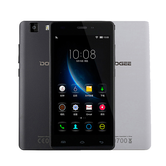 Original Doogee X5 Pro Android 5.1 MTK6735 IPS Quad Core 5.0 HD 1280*720 4G GPS Dual Sim 2G RAM 16G ROM Mobile Smartphone