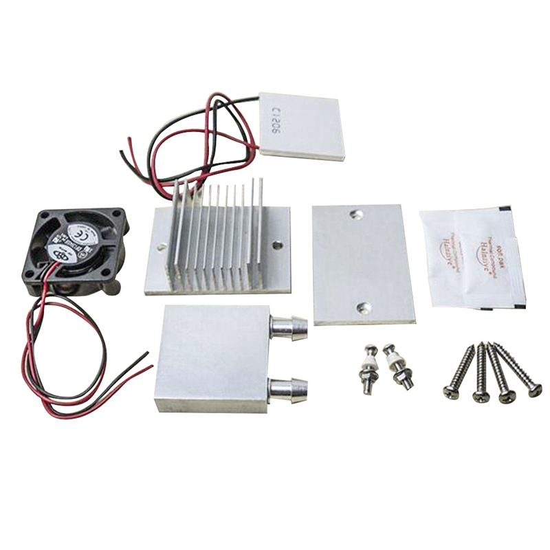 DIY Kit TEC1-12706 Thermoelectric Peltier Module Water Cooler Cooling System 60W