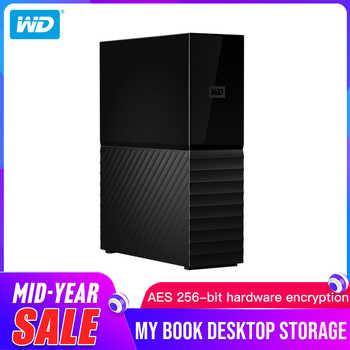 Western Digital (WD) My Book 3TB 4TB 6TB 8TB 10TB Desktop External Hard Drive Original- USB 3.0/256-bit AES Hardware Encryption - DISCOUNT ITEM  14% OFF All Category