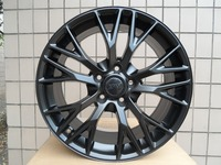 ALLOY WHEEL MAK MUNCHEN W FITS BMW 19X10 5x120 SATIN BLACK W591