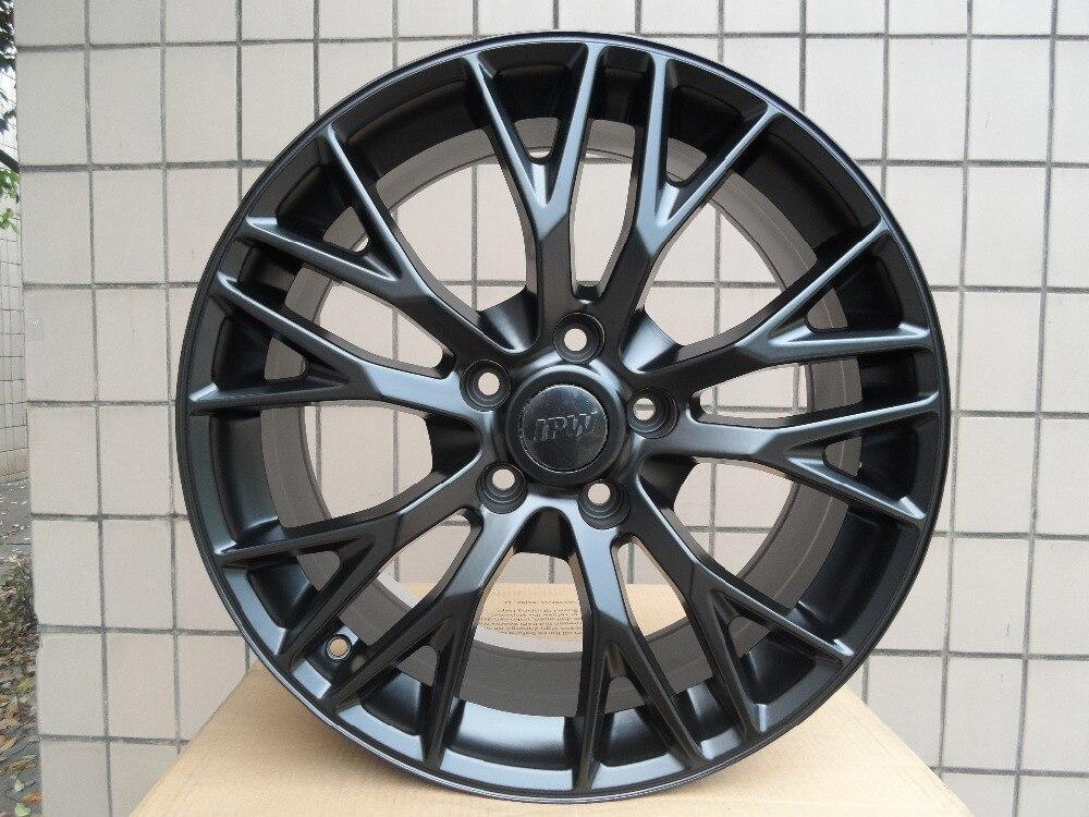 Roue en alliage MAK MUNCHEN W convient à BMW 19X10 5x120 noir satiné W591